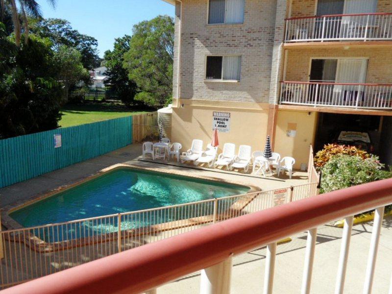 Pool view room Bribie Island