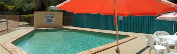 Bribie Island Resort with swimming pool